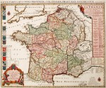 Rare Ottens map in magnificent colour