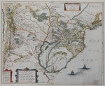 The map from Blaeu's Atlas Maior